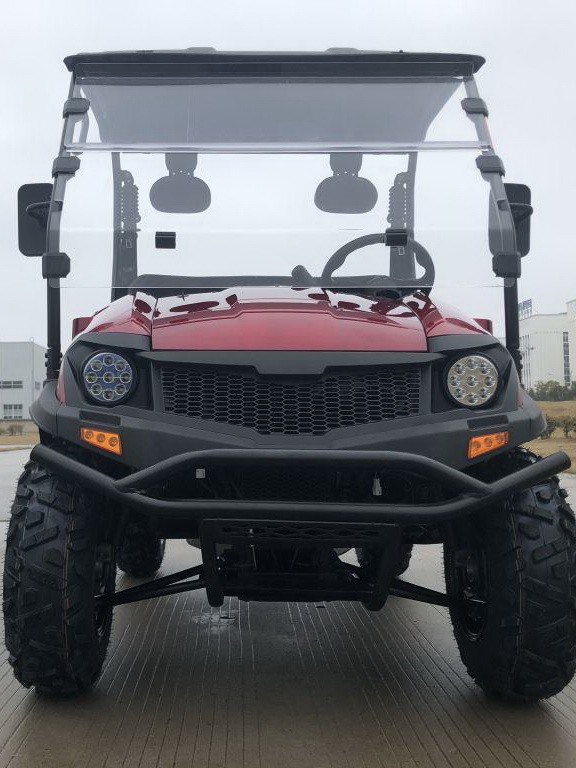 Red - Trailmaster Taurus 200U (Side By Side) 4-Stroke, Single Cylinder, Air And Oil Cooled