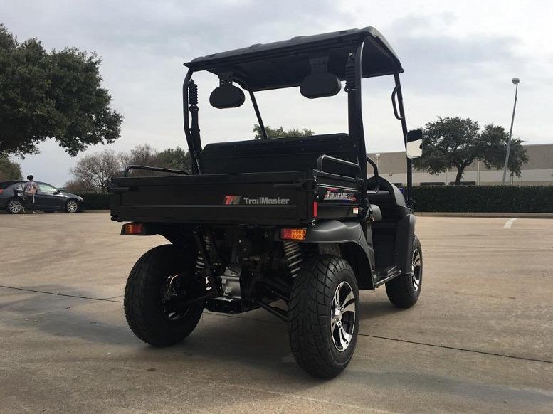 Carbon fiber - Trailmaster Taurus 200 MFV (Side By Side) 4-Stroke, Single Cylinder