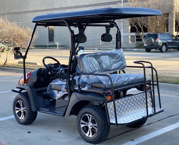 BLUE- Cazador Outfitter 200x Fully Loaded Golf Cart 4 seater