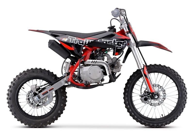 Trailmaster Tm24 Dirt Bike, Zm125Cc 4-Stroke Kick Start