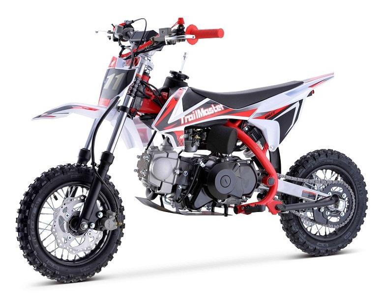 Trailmaster TM11 110cc Dirt Bike, Automatic Clutch Electric Start