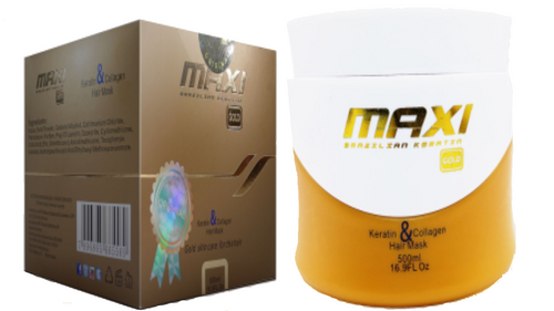 Maxi gold hair mask 500ml