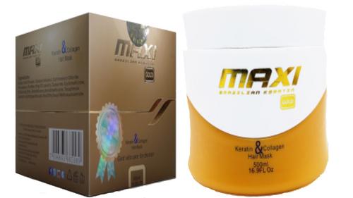 Maxi gold hair mask 500ml