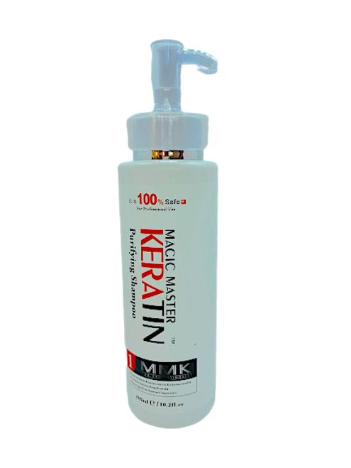 Magic Master Keratin Purify Shampoo 300ml