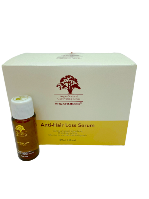 Arganmidas Anti-Hair Loss Serum 15mlx6