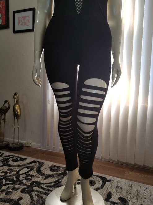 RIPPED AND READY LEGGINGS