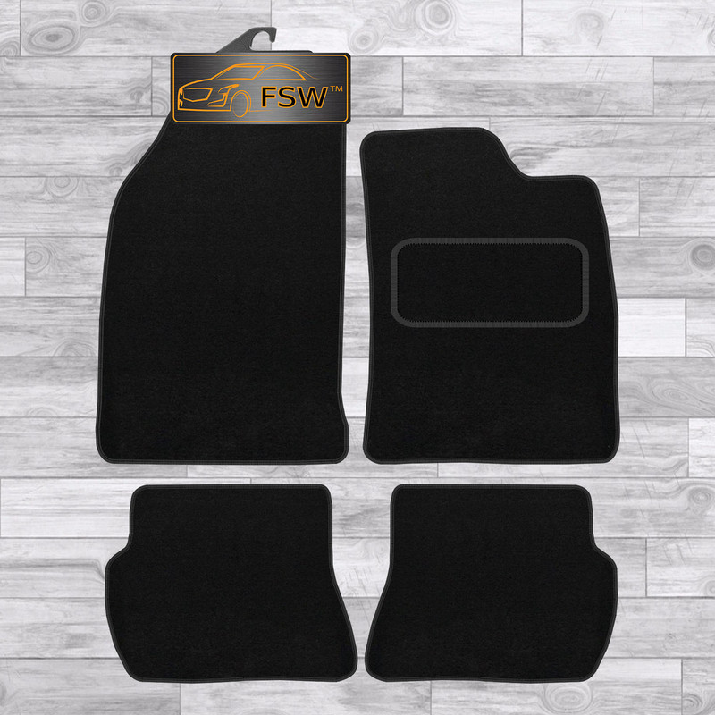 For Ford Fiesta Van MK6 2002-2008 Fully Tailored 2 Piece Rubber Car Mat Set