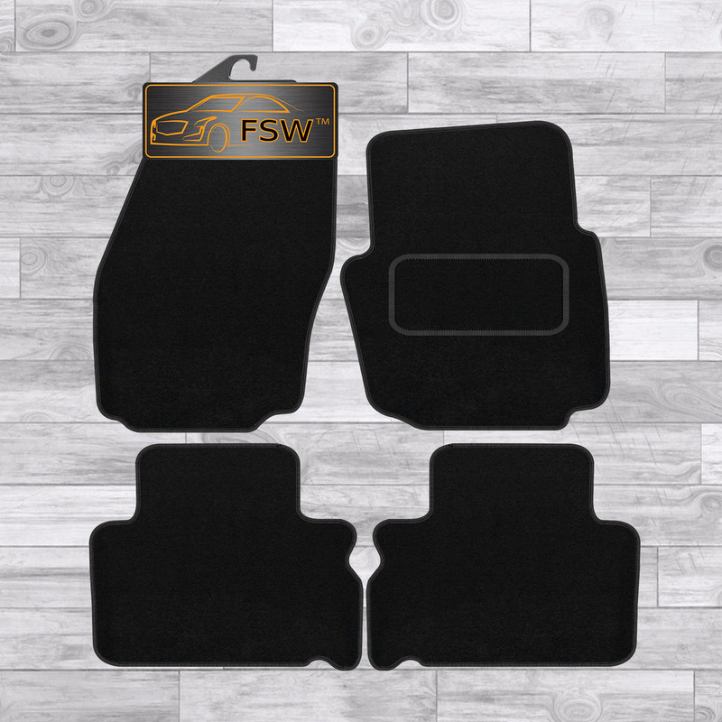 Ford S-Max 2006On Fully Tailored Black Carpet Car Mats
