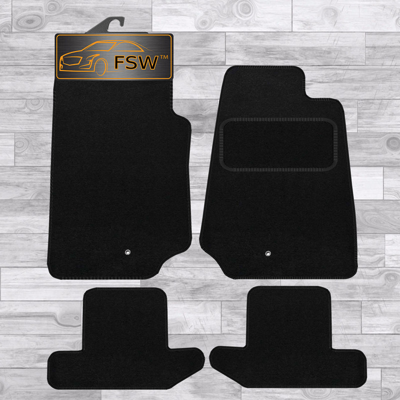 Chrysler Sebring 2007 Fully Tailored Black Carpet Car Mats