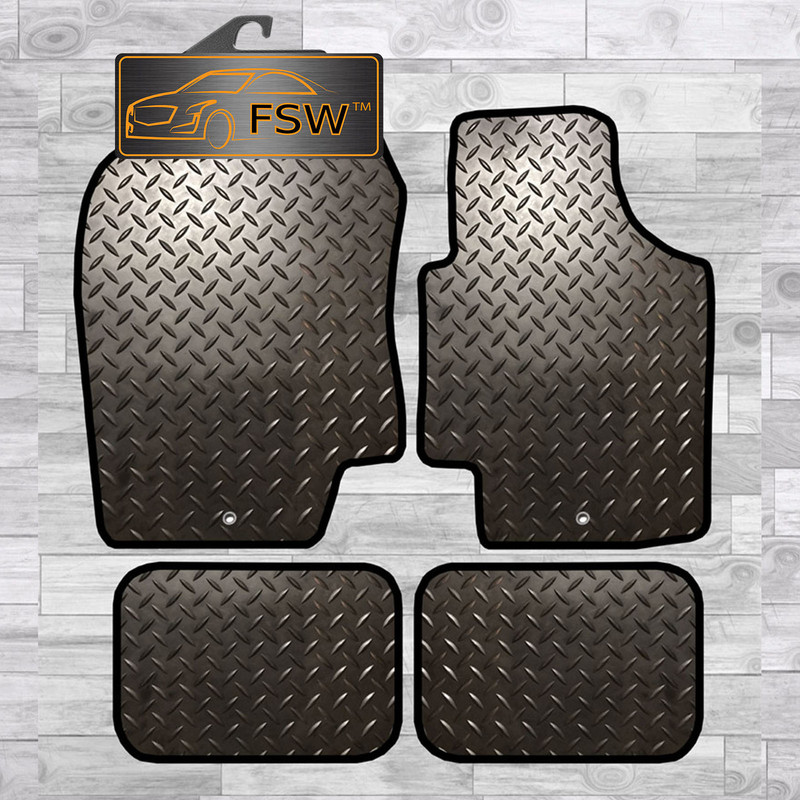 FSW Discovery 4 2010-On With Clips 7 Seats Tailored Carpet Car Floor Mats