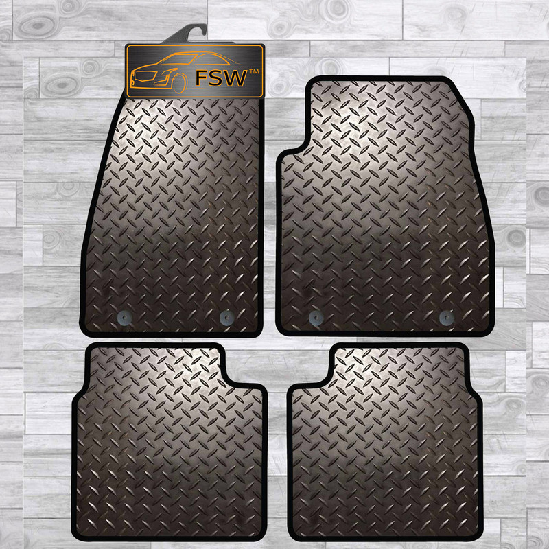 SAAB 9-5 2006-2010 FULLY TAILORED 3MM RUBBER HEAVY DUTY CAR FLOOR MATS STOCK
