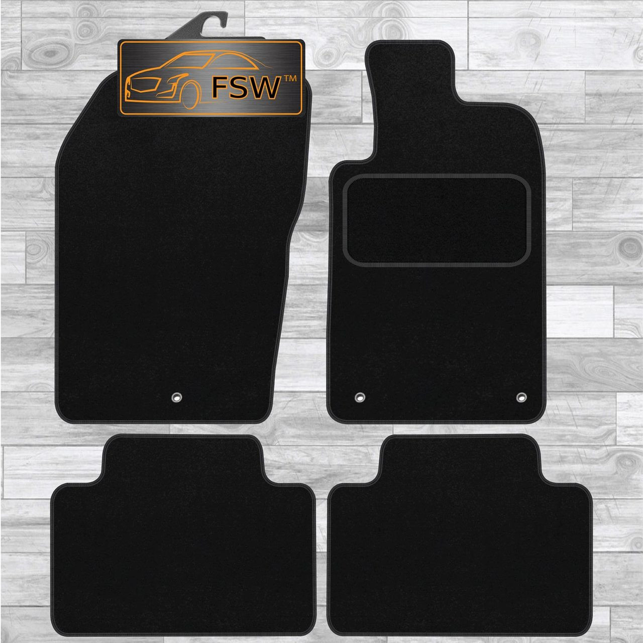 Custom Rubber Car Mats to fit Jeep Commander 2005-2010