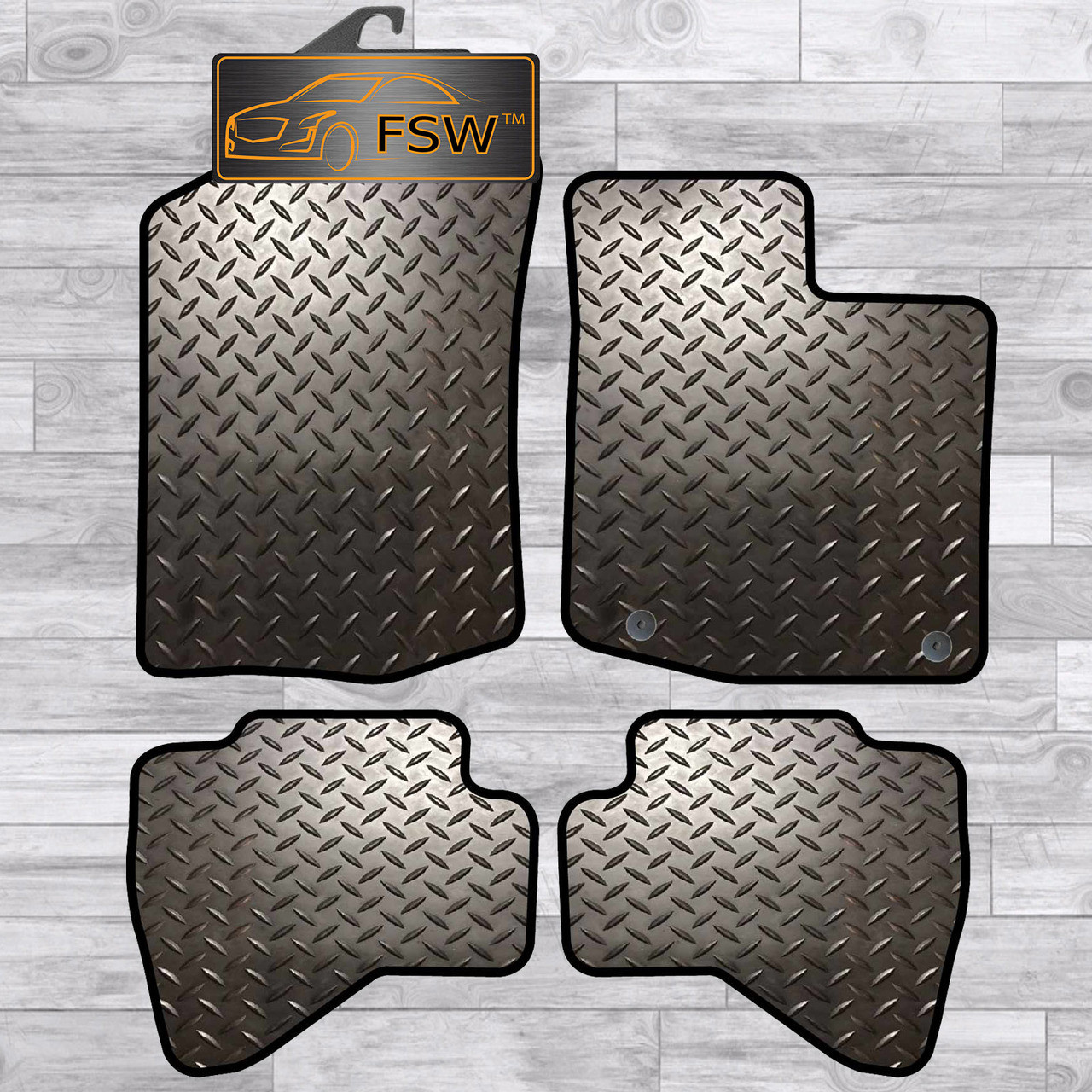 Toyota Aygo 2014 On New Toyota Clip Tailored Floor Car Mats Carpet //Rubber