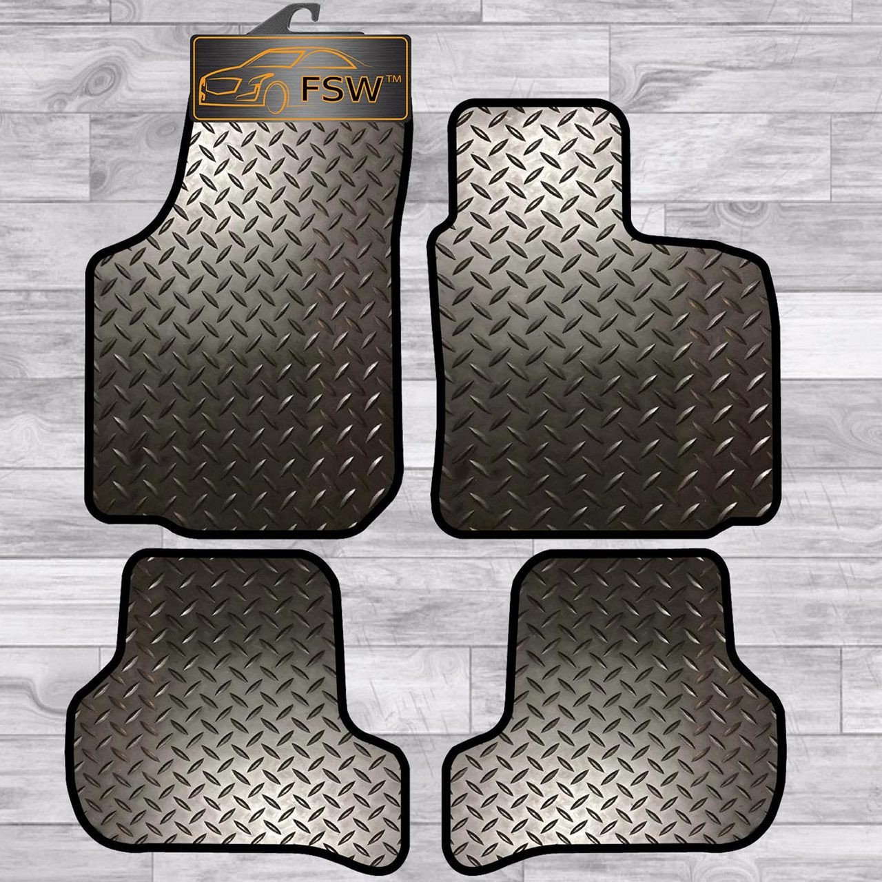 HEAVY DUTY RUBBER CAR FLOOR MAT RENAULT KANGOO 09 on