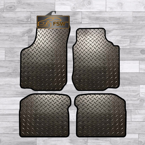 VW BORA 1999-2005 FULLY TAILORED 3MM RUBBER HEAVY DUTY CAR FLOOR MATS