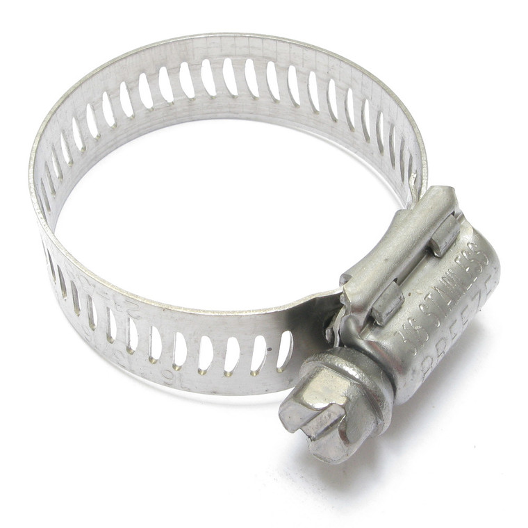 Stainless Steel Hose Clamp, SAE Size 16