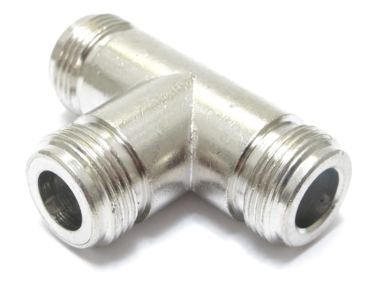 Coaxial Tee Adapter, Type N
