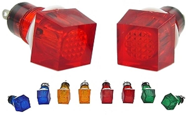 12VDC Panel Lamp / Indicator Lamp - Amber
