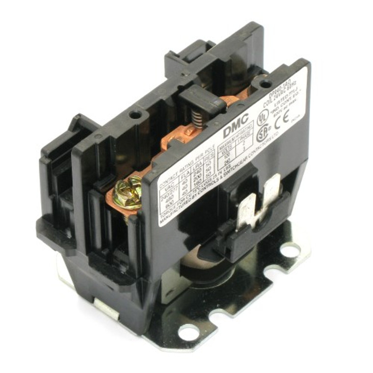 Contactor / Relay 40 Amp SPST N.O. 24 VAC