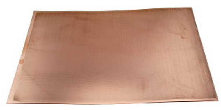Copper Clad Circuit Board - 18 Inch x 12 Inch Thickness: 0.010 Inch