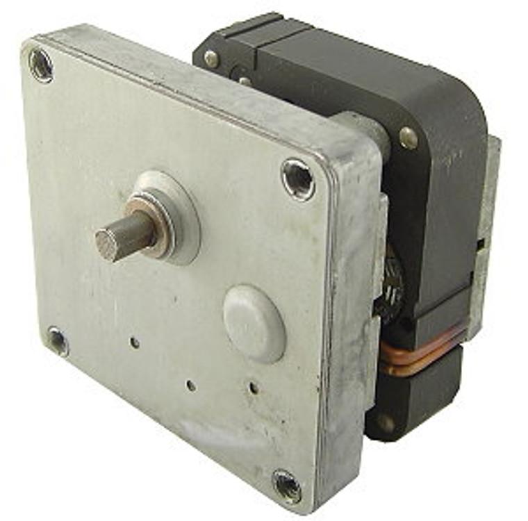 115 VAC 4 RPM Gearhead Motor, Intermittent Duty