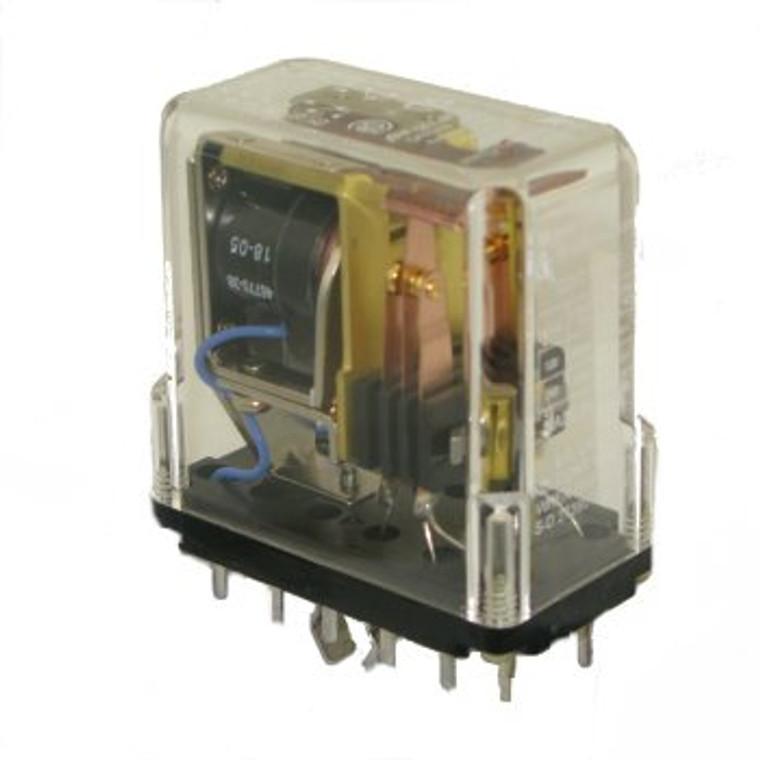 120 VAC Industrial Relay DPDT 10 Amp
