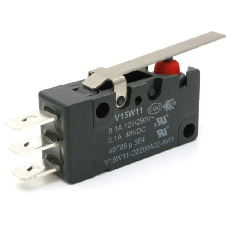 Watertight Miniature Snap Switch with Lever SPDT