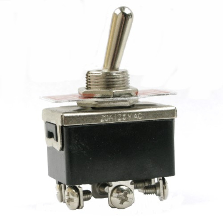 Heavy Duty Toggle Switch DPDT On-Off-On 20 Amp