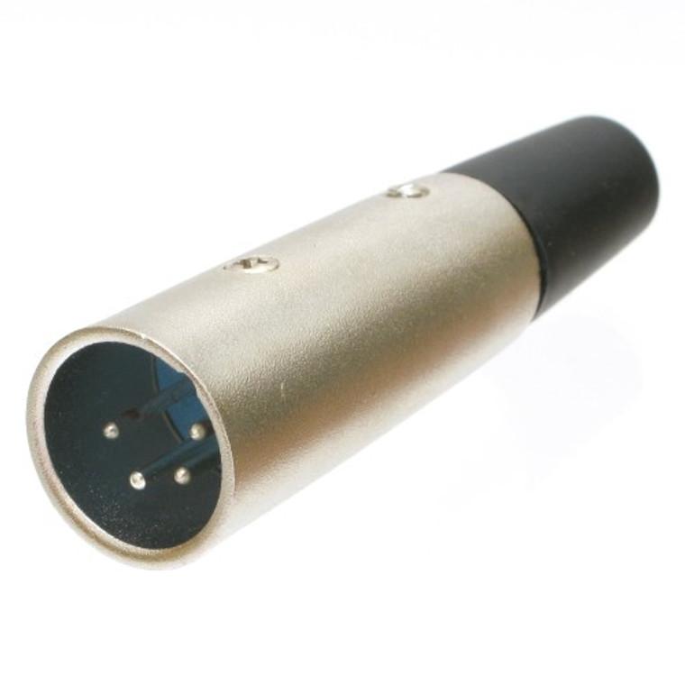 Connector, 4 pin XLR Male