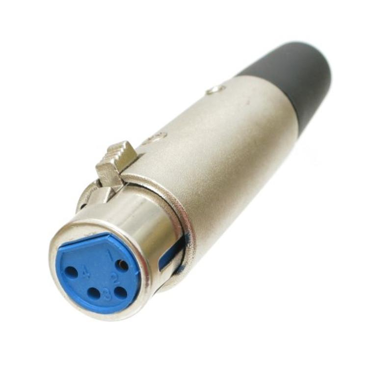 Connector, 4 pin XLR Female