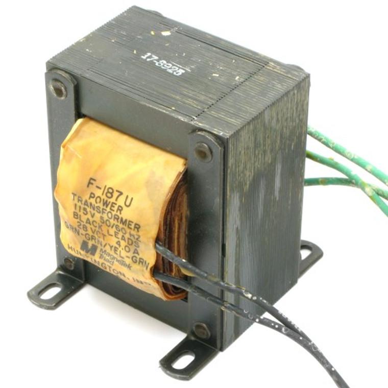 28 Volt AC Center Tap Transformer 4 Amp