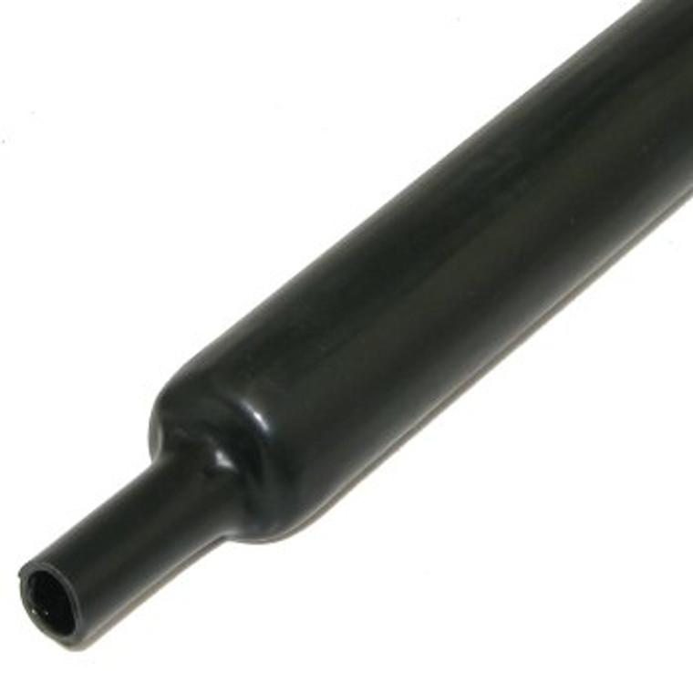 "1 "" Black Heat Shrink, Glue Lined"