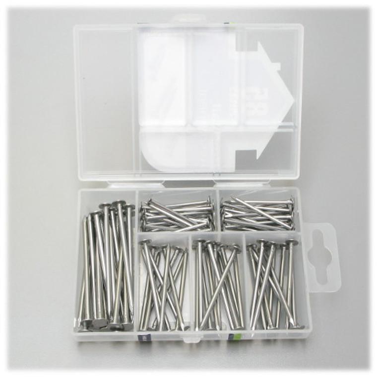 Box Nail Kit, 85 Piece Assortment