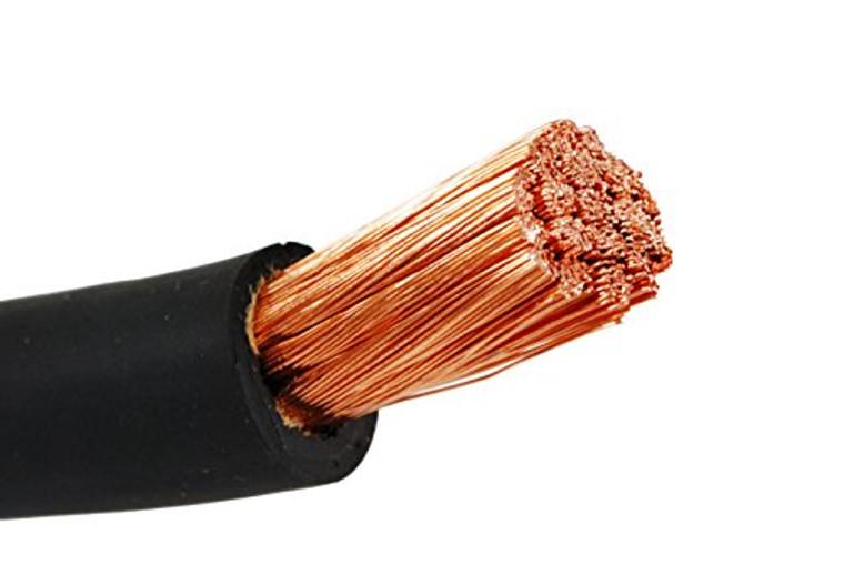 X-Flex 1/0 Bare Copper Flexible Wire, 1064 Strands