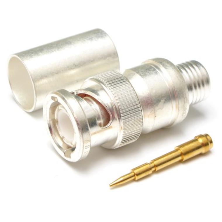 BNC Coaxial Straight Plug Crimp 50 ohm
