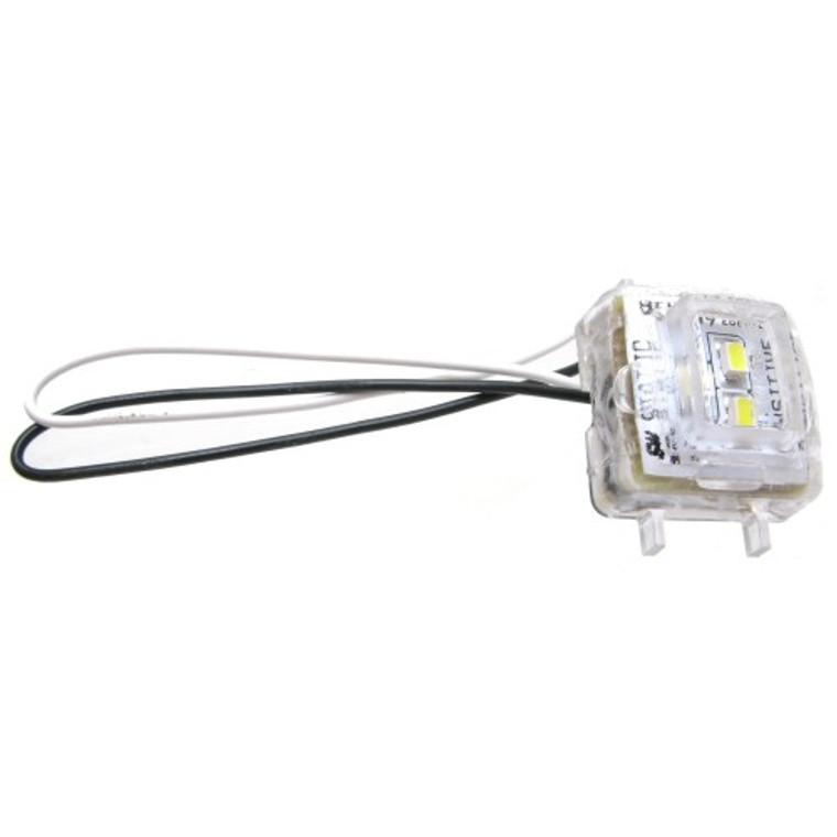 White Sealed 12 to 24 vdc LED Lamp Assembly