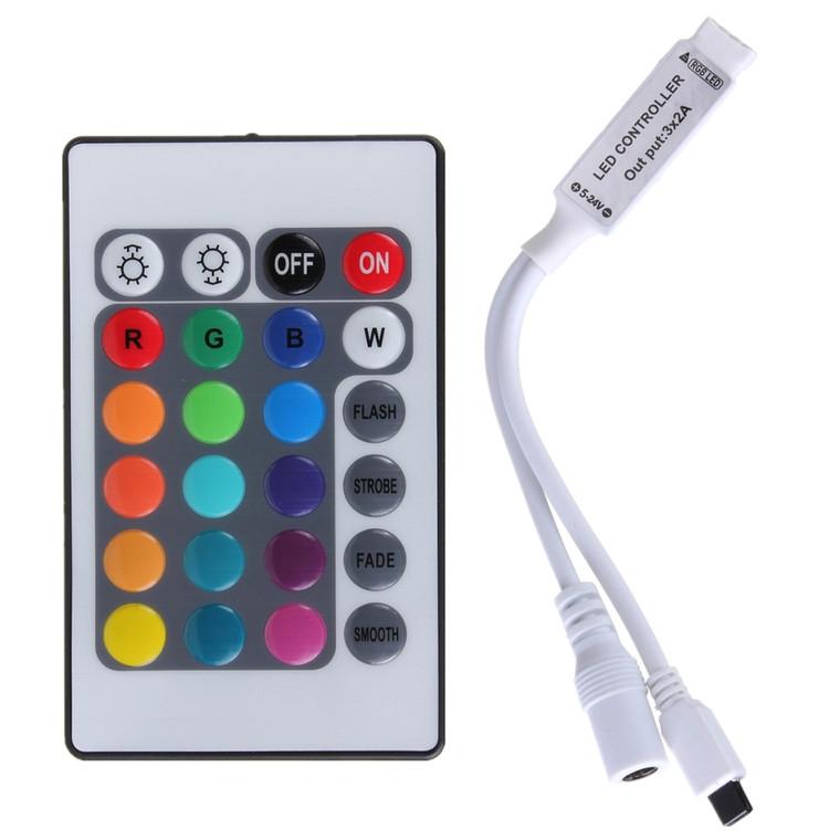 24 Key LED IR Remote Control