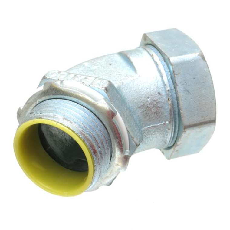 1 Inch Liquid-Tight 45 Degree Connector