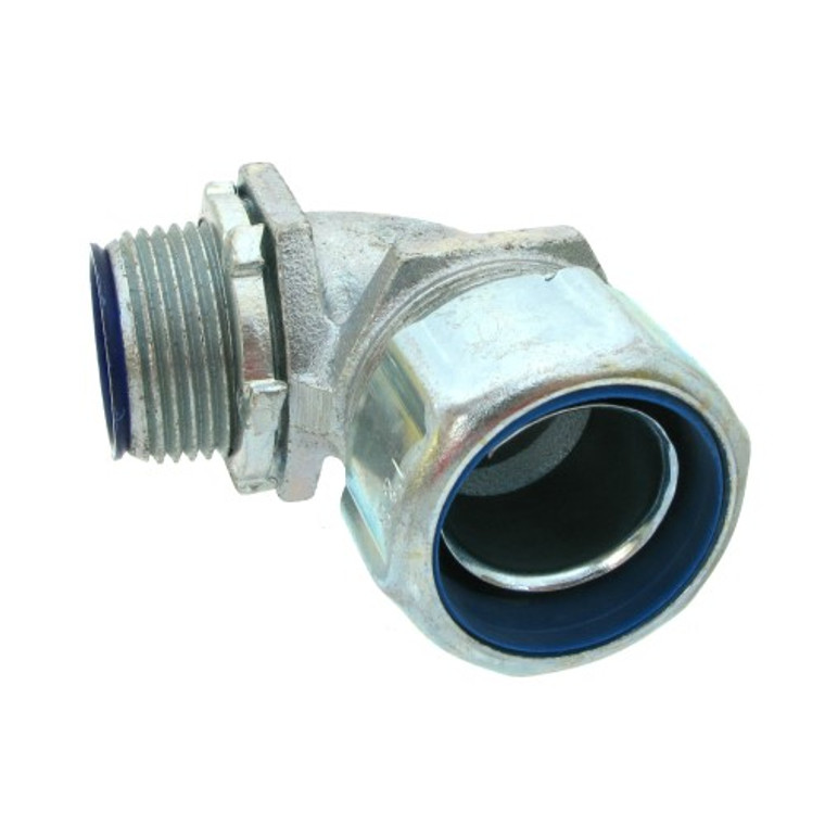 1 Inch Insulated Liquid-Tight Connector - 90 degree
