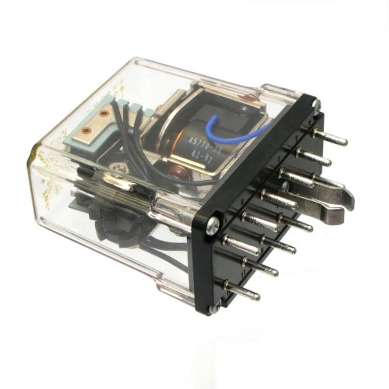 120 Volt AC Latching Relay, DPDT 5 Amp