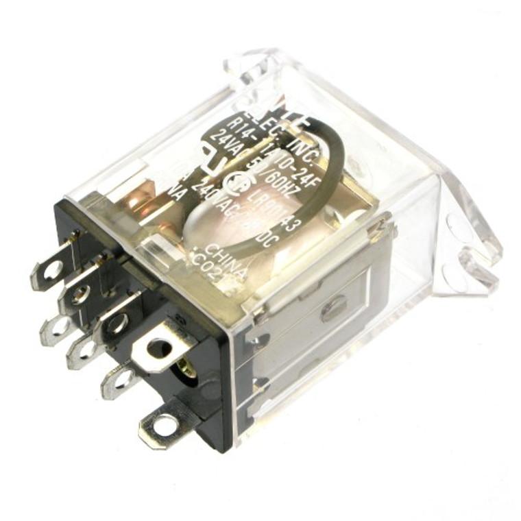 24 VAC Relay, DPDT 10 Amp