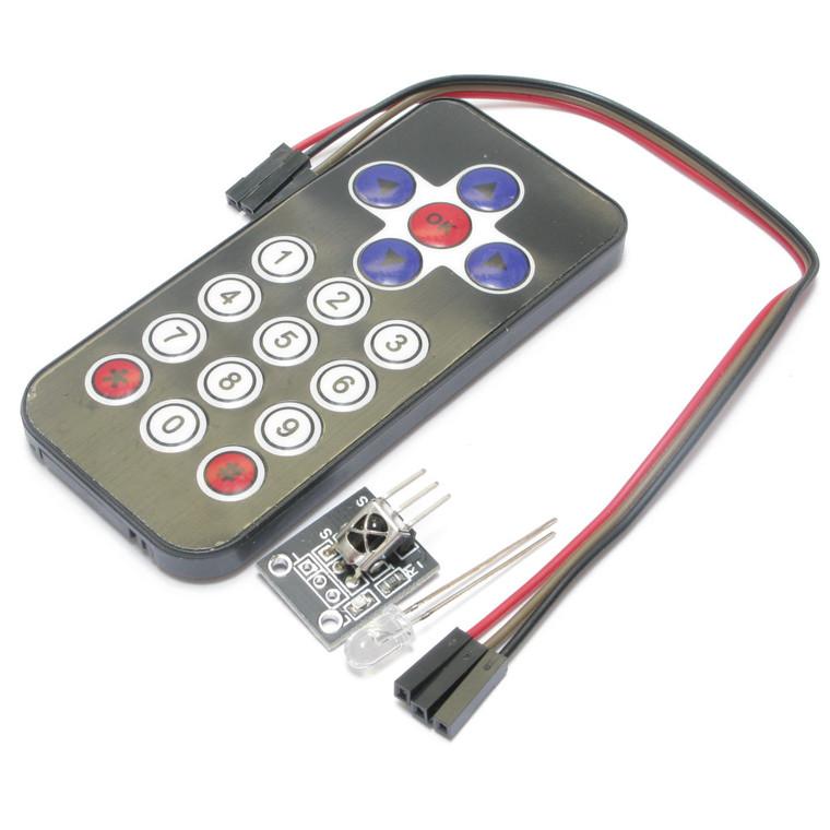 Arduino Compatable Mini Infrared Remote Control IR Receiver Module DIY Kit