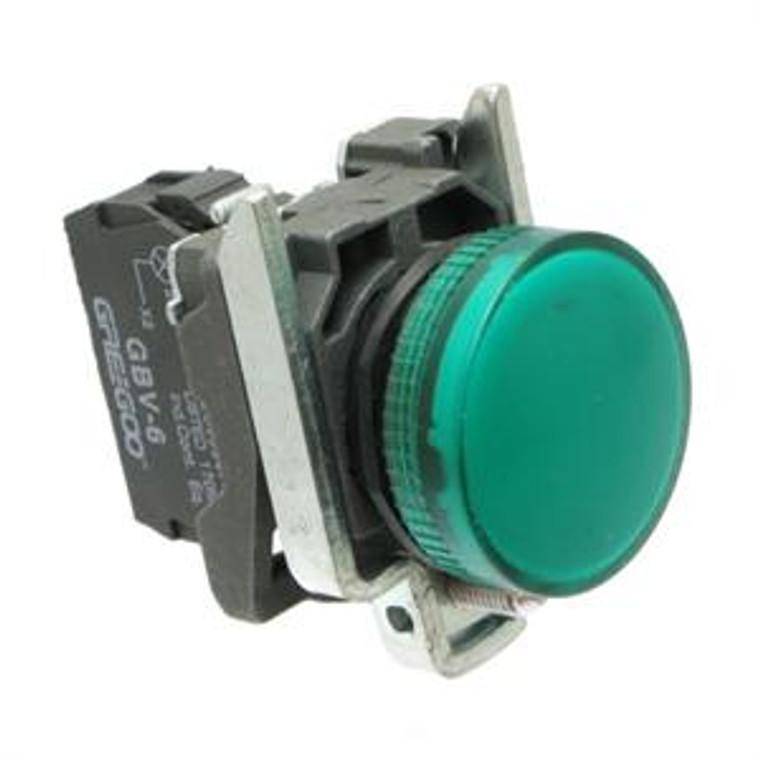 Pilot Lights, Indicator Electrical - Green