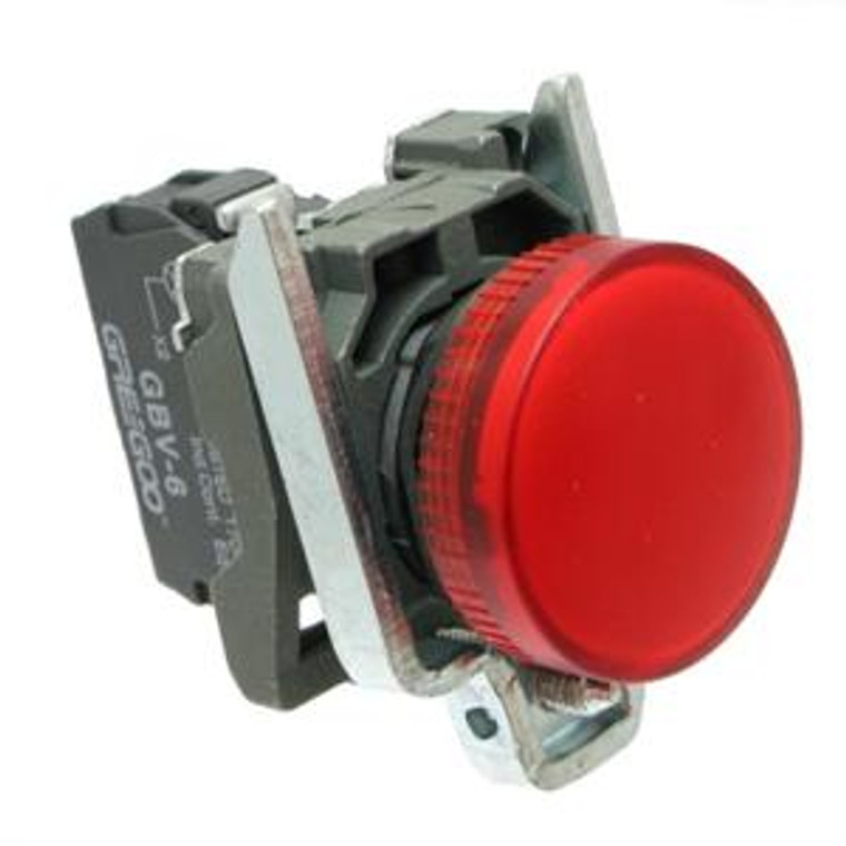Pilot Lights, Indicator Electrical - Red