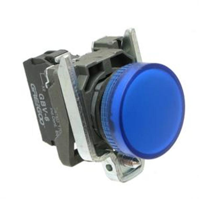 Pilot Lights, Indicator Electrical - Blue