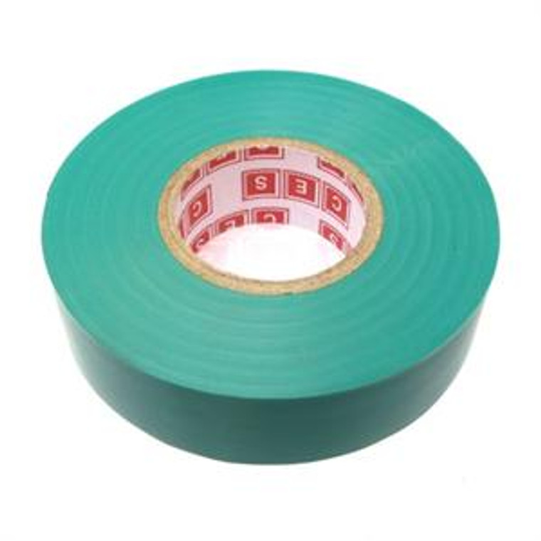 Electrical Tape 0.75 Inch x 66 Foot x 7 mil - Green