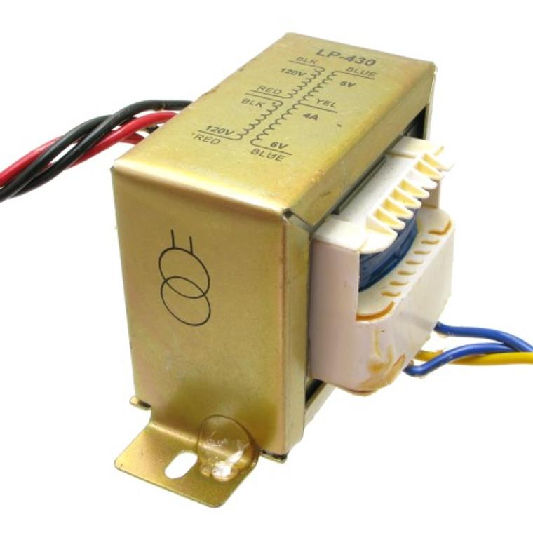 12 VCT Transformer 4 Amp - 120/220 VAC