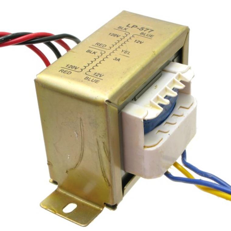 24 VCT Transformer 3 Amp - 120/220 VAC