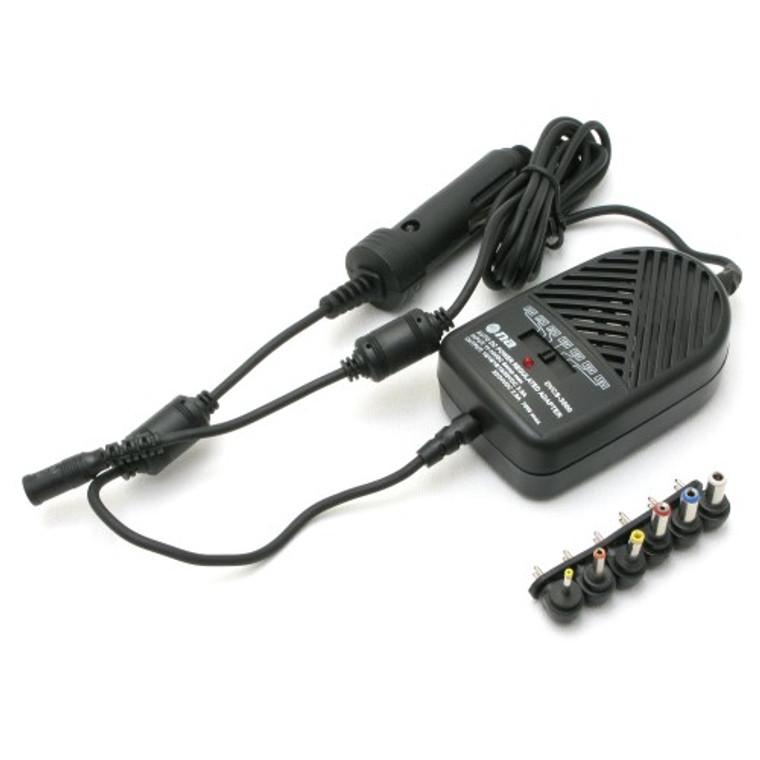 12 VDC Power Regulated Universal Adapter for Laptops