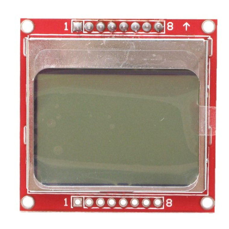 Graphic LCD 84x48 - Nokia 5110, Arduino Compatible